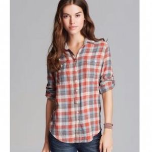 💎Jachs Girlfriend BEA Button Down flannel shirt
